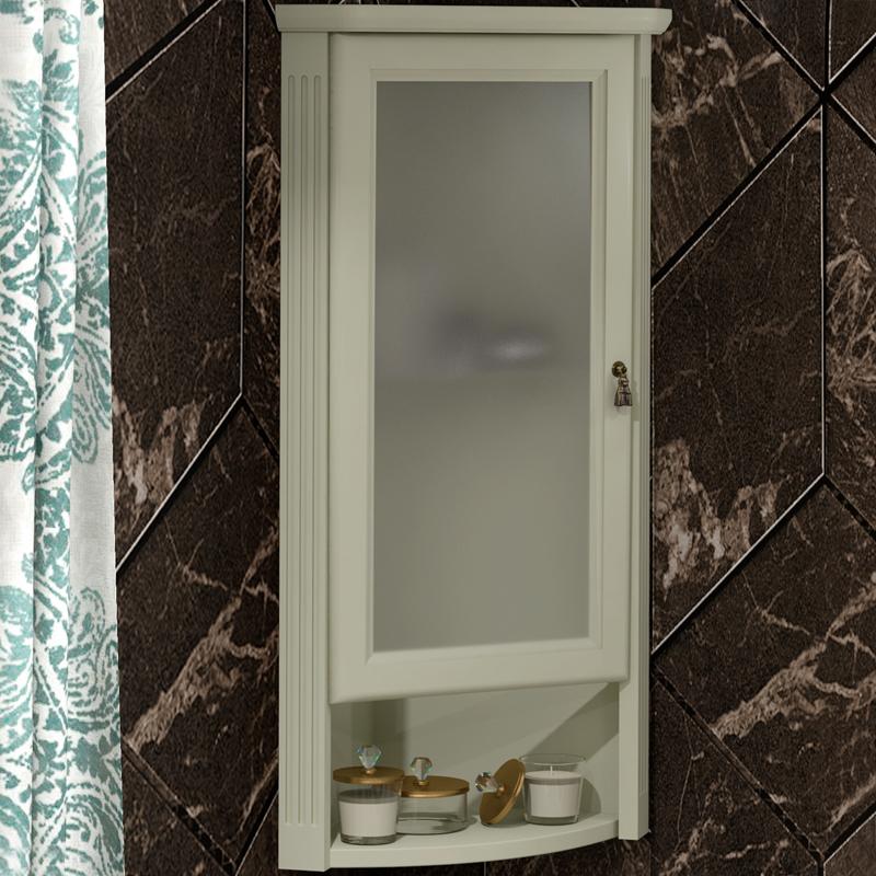 Подвесной шкаф Opadiris Клио 32 L Z0000014861 угловой Слоновая кость фото
