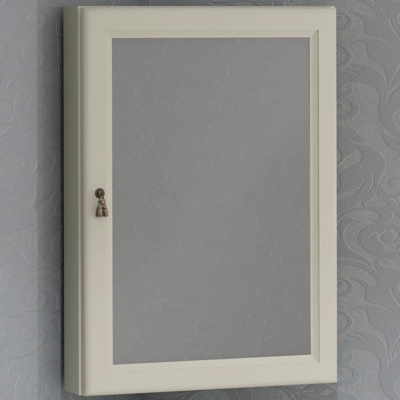 Зеркальный шкаф Opadiris Клио 45 R 00-00000222 угловой Слоновая кость