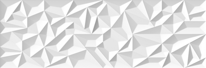 Керамическая плитка Venis Prisma White V14402361 настенная 33,3x100 см декор для стен prisma медь