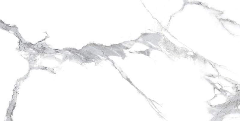 Керамогранит Laparet Statuario Crown белый полированный 60x120 см керамогранит laparet breach silver светло серый полированный 60x120 см