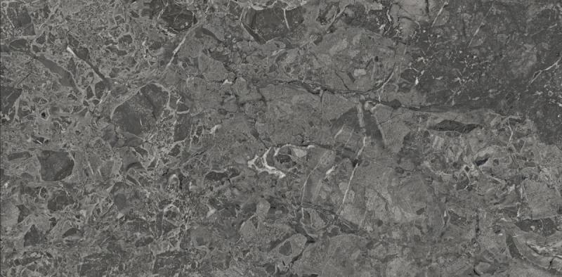 Керамогранит Laparet Brecia Adonis Dark темно-серый глянцевый 60x120 см керамогранит laparet breach silver светло серый полированный 60x120 см