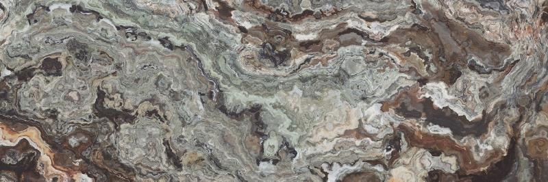 Керамическая плитка Laparet Brouni коричневый настенная 25х75 см
