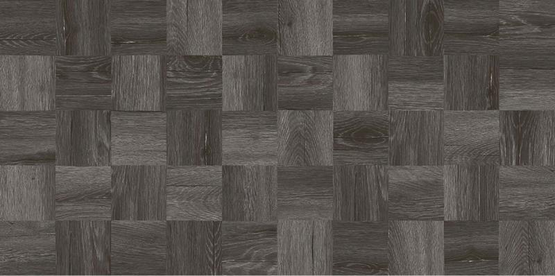 Керамогранит Laparet Timber черный мозаика 30х60 см недорого