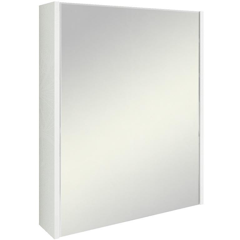 Зеркальный шкаф Sanflor Калипсо 60 С03876 Белый Ателье светлый