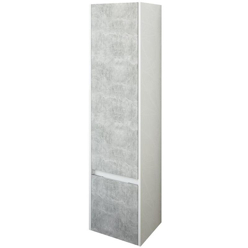 Шкаф пенал Sanflor Калипсо 38 R С03878 подвесной Белый Ателье светлый