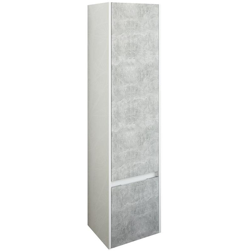 Шкаф пенал Sanflor Калипсо 38 L С03879 подвесной Белый Ателье светлый