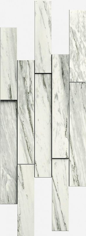 Керамический декор Italon Skyfall Bianco Brick 3D 620110000104 28х78 см