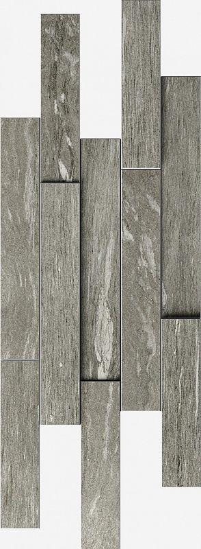 Керамический декор Italon Skyfall Grigio Brick 3D 620110000105 28х78 см