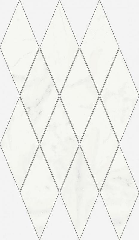 Керамическая мозаика Italon Charme Deluxe Michelangelo Diamond 620110000111 28х48 см керамическая мозаика italon charme deluxe arabescato diamond 620110000112 28х48 см