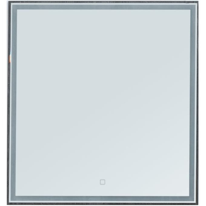 Зеркало Aquanet Nova Lite 60 242621 с подсветкой Дуб рошелье комплект мебели для ванной aquanet nova lite 90 243247 подвесной дуб рошелье