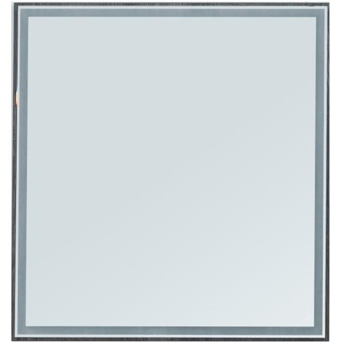 Зеркало Aquanet Nova Lite 75 242258 с подсветкой Дуб рошелье комплект мебели для ванной aquanet nova lite 90 243247 подвесной дуб рошелье
