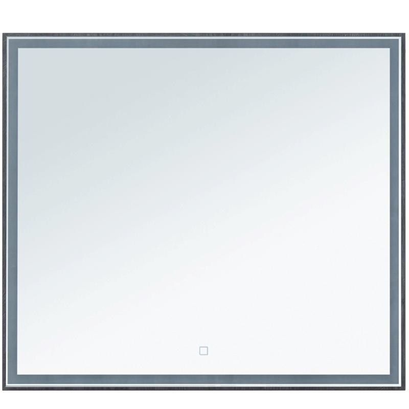 Зеркало Aquanet Nova Lite 90 242263 с подсветкой Дуб рошелье комплект мебели для ванной aquanet nova lite 90 243247 подвесной дуб рошелье