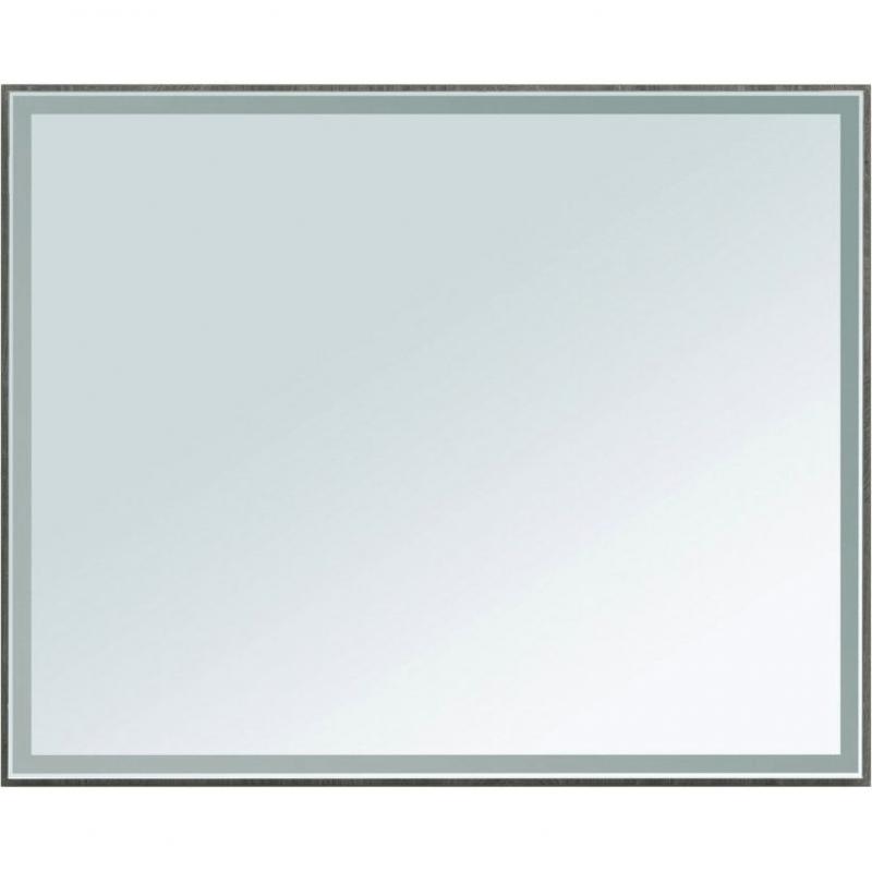 Зеркало Aquanet Nova Lite 100 242623 с подсветкой Дуб рошелье комплект мебели для ванной aquanet nova lite 90 243247 подвесной дуб рошелье