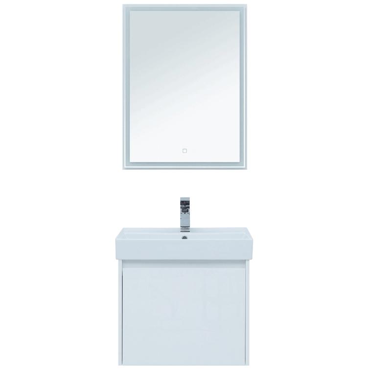 Фото - Комплект мебели для ванной Aquanet Nova Lite 60 242922 подвесной Белый комплект мебели для ванной aquanet йорк 60 203642 подвесной белый глянец