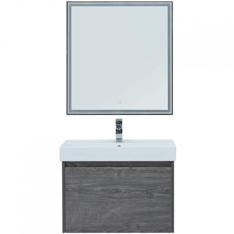 Комплект мебели для ванной Aquanet Nova Lite 60 242923 подвесной Дуб рошелье фото