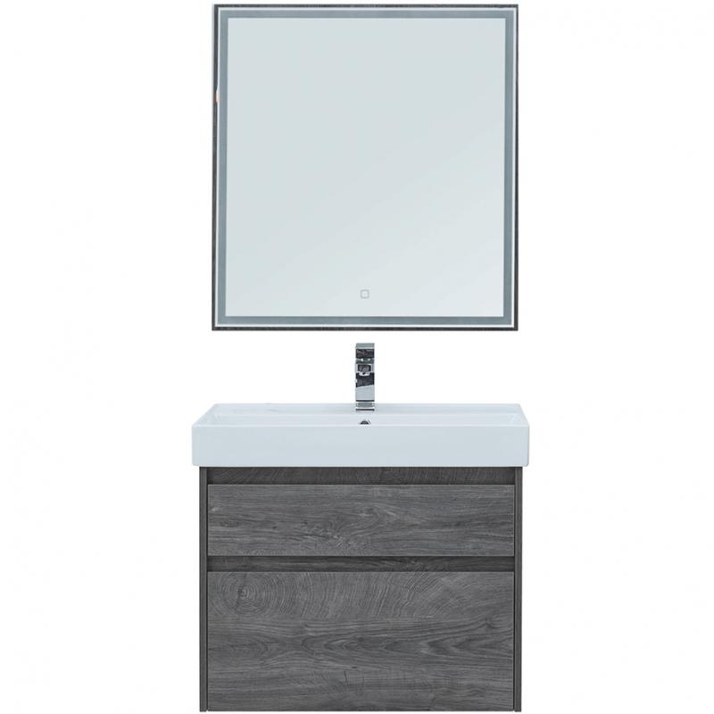 Комплект мебели для ванной Aquanet Nova Lite 60 242920 подвесной Дуб рошелье комплект мебели для ванной aquanet nova lite 90 243247 подвесной дуб рошелье