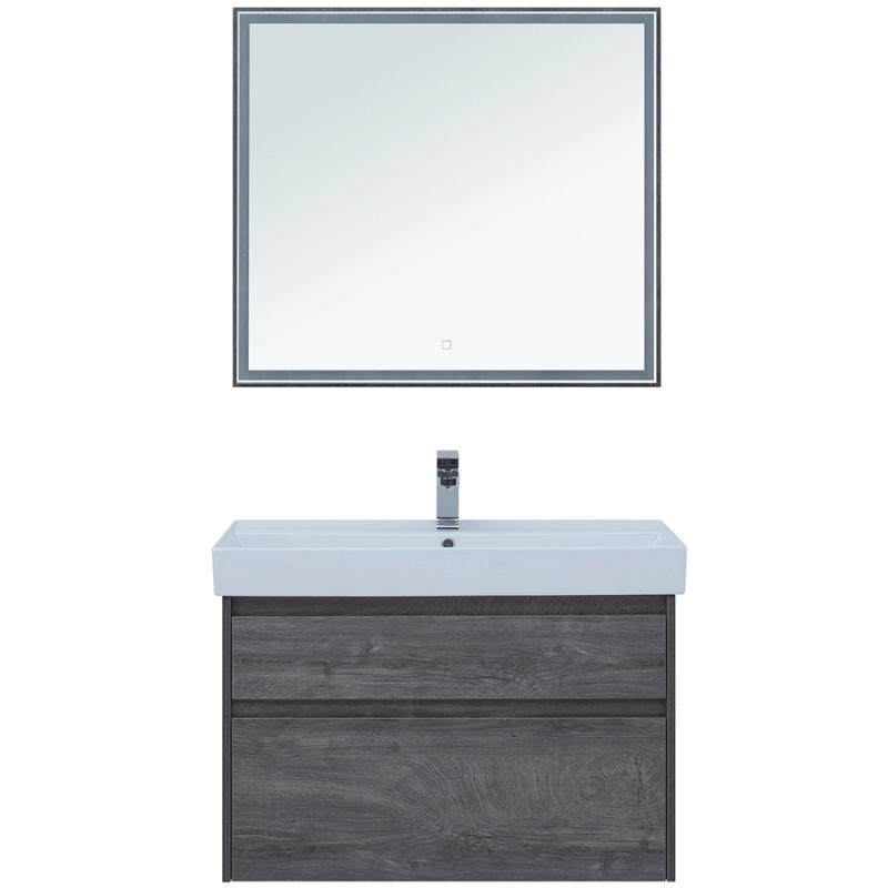 Комплект мебели для ванной Aquanet Nova Lite 90 243247 подвесной Дуб рошелье комплект мебели для ванной aquanet nova lite 90 243247 подвесной дуб рошелье