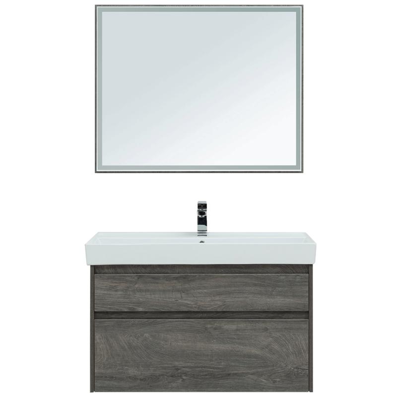Комплект мебели для ванной Aquanet Nova Lite 100 243231 подвесной Дуб рошелье фото