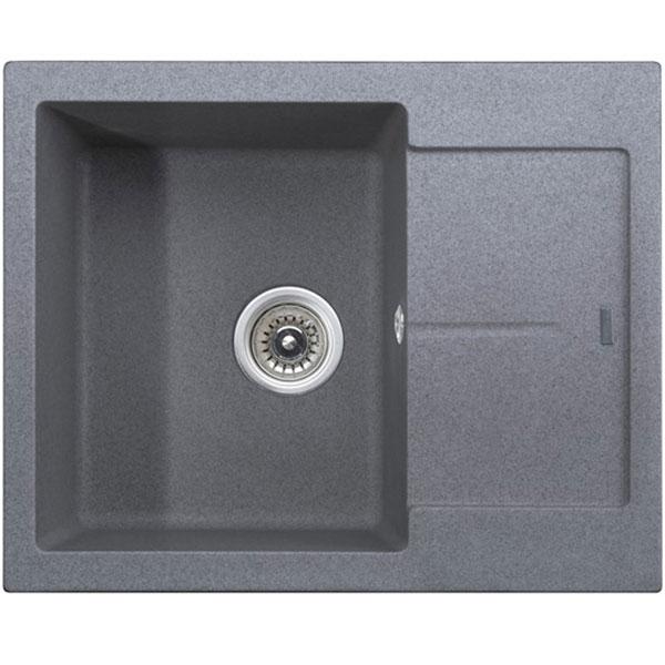 кухонная мойка kaiser kgmo 6250 g grey Кухонная мойка Kaiser KGMK-6250-G Grey