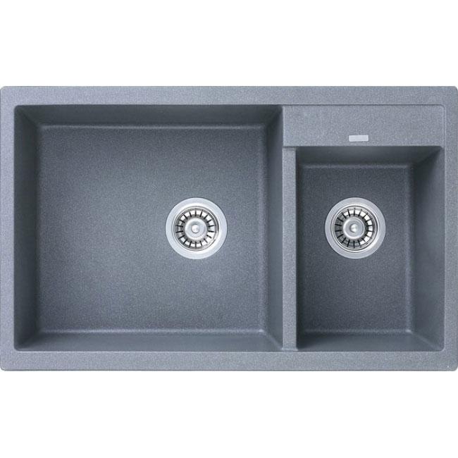 Кухонная мойка Kaiser KG2M-8050-G Grey