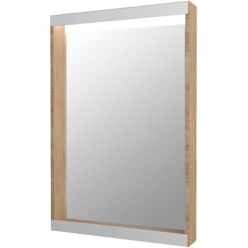 Зеркало 1MarKa Aris 60 У84859 с подсветкой Дуб сонома