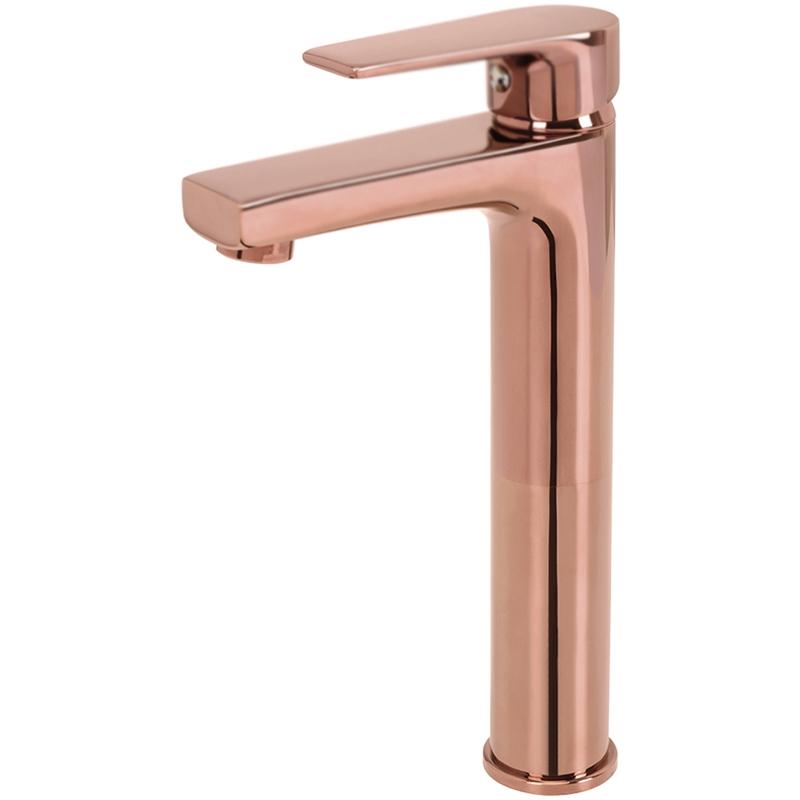 Смеситель для раковины Creavit Sharp SR6500C Розовое золото