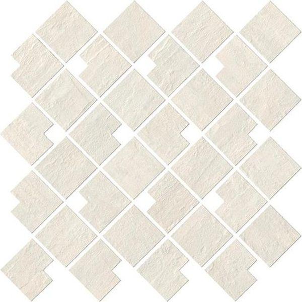 Керамическая мозаика Atlas Concorde Raw White Block 9RBW 28х28 см