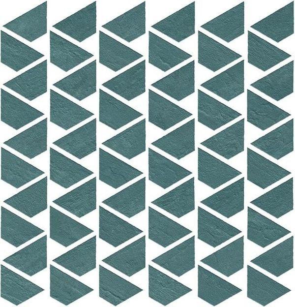 Керамическая мозаика Atlas Concorde Raw Petroleum Flag 9RFE 31,1х31,6 см petroleum