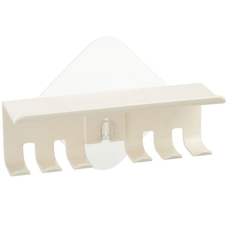 Держатель для зубных щеток Kleber Home kle-hm037 Белый держатель для зубной щетки би хэппи андрей 4 х 6 х 3 5 см