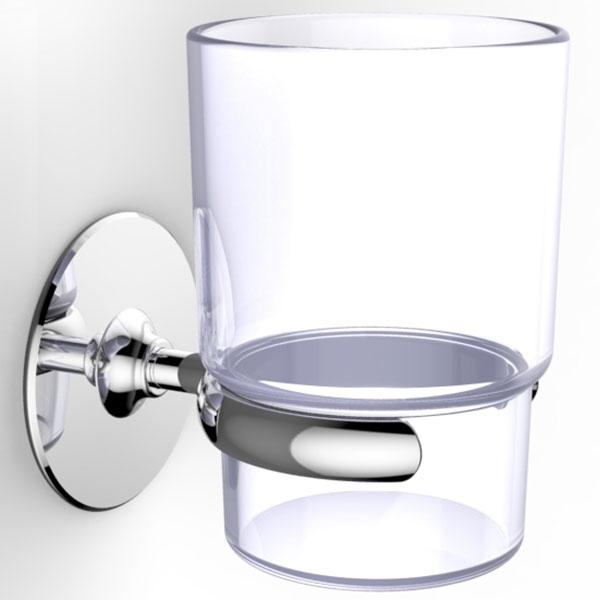 Стакан для зубных щеток Kleber KLE-044 Хром стакан для зубных щеток kleber kle 044 хром