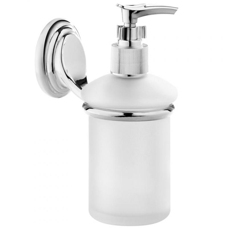 Дозатор для жидкого мыла Fora Noval N041 Хром дозатор для жидкого мыла primanova kosta 19 5 7 5 см