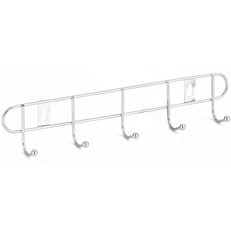 Вешалка для полотенец Fora 27 25005 Хром вешалка для полотенец axentia настенная с 5 планками 58 х 15 5 х 70 см