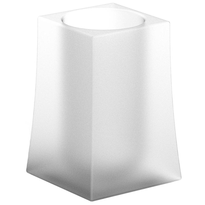 Стакан для зубных щеток Sonia S-7 129416 Белый матовый