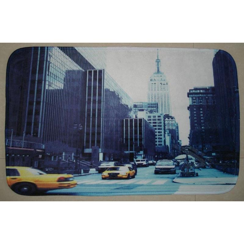коврик для ванной комнаты fora rk 13 лист Коврик для ванной комнаты Fora 80х50 RK-05 Нью-Йорк