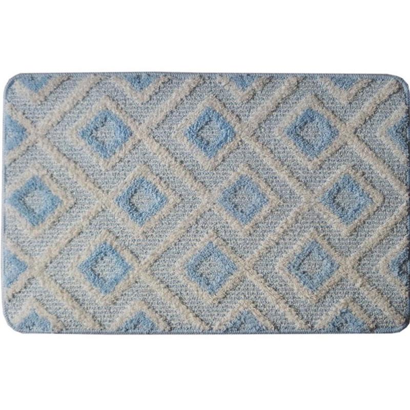 коврик для ванной комнаты fora rk 13 лист Коврик для ванной комнаты Fora 75х45 FOR-LD75BL Greece Голубой