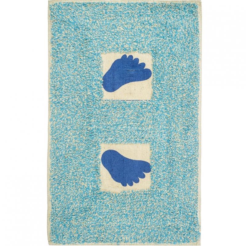 коврик для ванной комнаты fora rk 13 лист Коврик для ванной комнаты Fora 60х40 FOR-M001BL Лапки