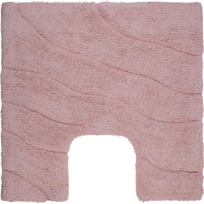 Коврик для туалета Fora Trendy 50х50 FOR-TR050-U 50 Волна Розовый