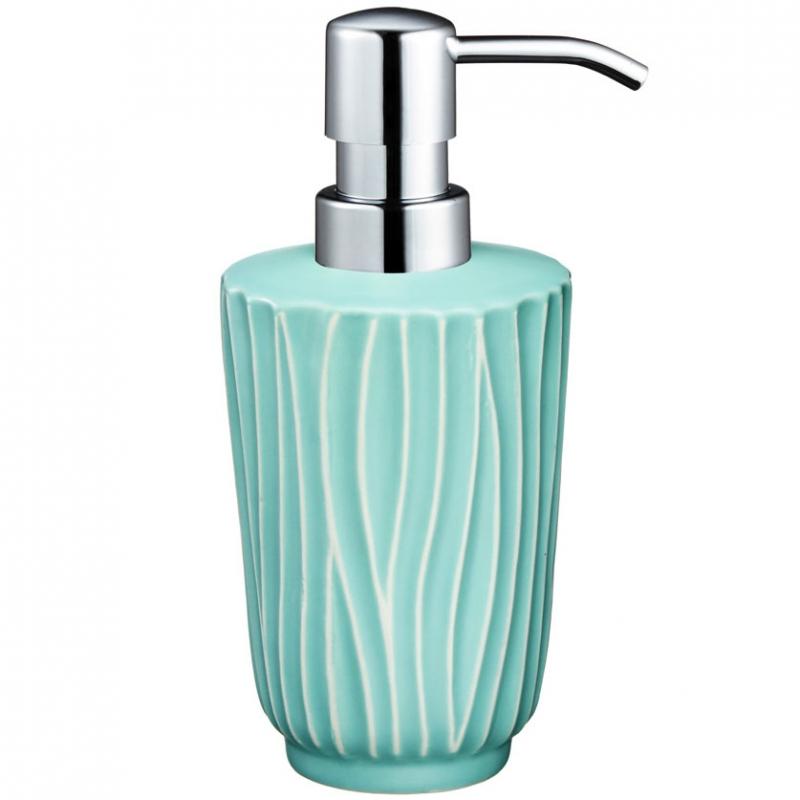 Дозатор для жидкого мыла Fora Tiffany FOR-TIF021 Голубой дозатор для жидкого мыла fora brass керамический