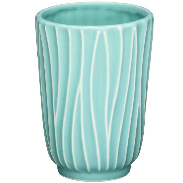 Стакан для зубных щеток Fora Tiffany FOR-TIF044 Голубой