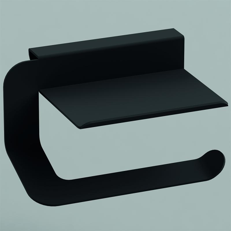 Фото - Держатель туалетной бумаги Sonia Quick 176953 Черный матовый держатель для кашпо emsa крепление балконное на поручень черный