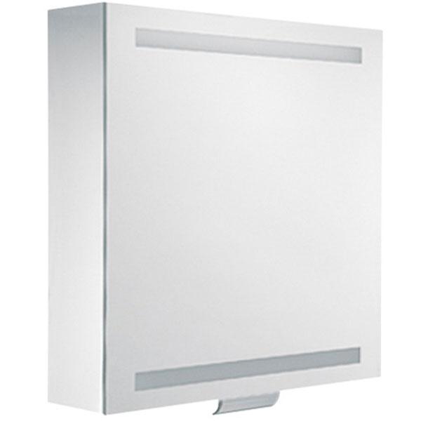 Зеркальный шкаф Keuco Edition 300 65 30201 171201 с подсветкой Белый зеркальный шкаф vigo mirella 80 с подсветкой белый