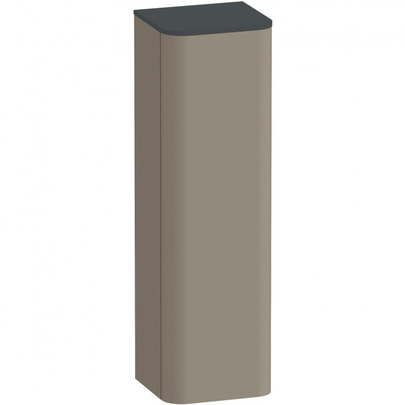 Шкаф пенал Duravit Happy D 2 Plus 40 R HP1261R9292 подвесной Stone Grey Satin Matt