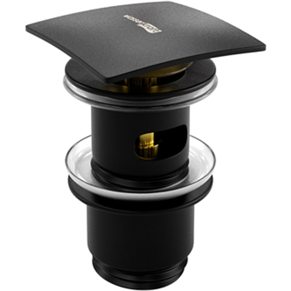 Донный клапан WasserKRAFT Abens A164 Черный матовый
