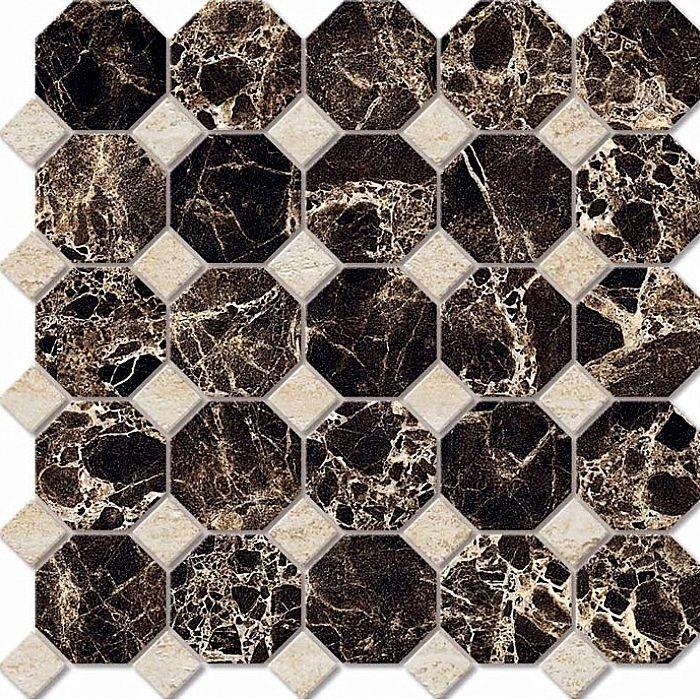 Керамическая мозаика Estima Elegant Octagon Small EL03/JZ02 30х30 см