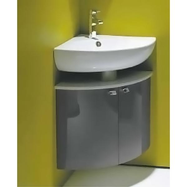 Odeon Up 68 угловая Белый лакМебель для ванной<br>Подвесная тумба под раковину Jacob Delafon Odeon Up 68 EB864-G1C с двумя распашными дверцами.<br>Универсальный дизайн тумбы дополнит интерьер большинства ванных комнат в современном стиле. Простые и изящные линии, функциональность и удобство модели придутся по душе всей семье.<br>Изготовлена из МДФ/ЛДСП и покрыта глянцевым полиуретановым лаком высокого качества. Дополнительное покрытие: ламинат. Материалы устойчивы к выцветанию и предназначены для использования в помещениях с повышенной влажностью.<br>Две распашные дверцы со встроенными доводчиками. Вкладная полка внутри.<br>Мягкий и плавный ход дверок с функцией Soft Close. Ручки с покрытием цвета хром.<br>Металлический полупьедестал.<br>Цвет: белый лак.<br>Монтаж: подвесной.<br>В комплекте поставки: тумба под раковину.<br>