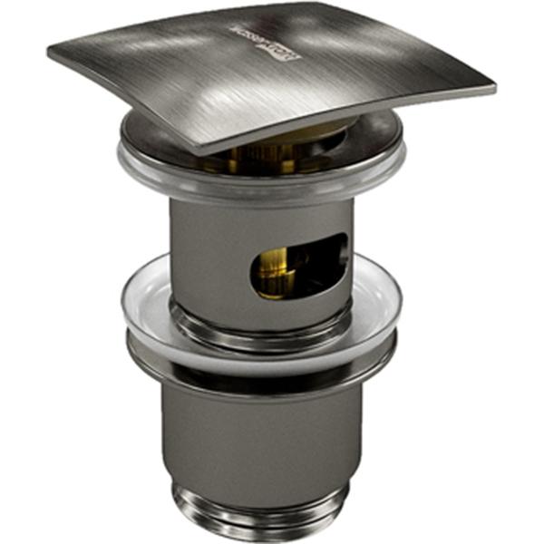 Донный клапан WasserKRAFT Wiese A167 Оружейная сталь
