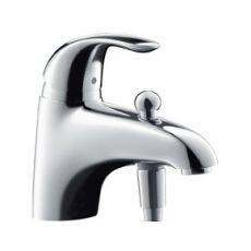 Focus E 31751000 ХромСмесители<br>Однорычажный, керамический узел смешивания, крепление рукоятки Boltic, автоматическое переключение ванна/душ, подключение душа, расход воды около 20,5 л/мин, ограничитель температуры воды.<br>