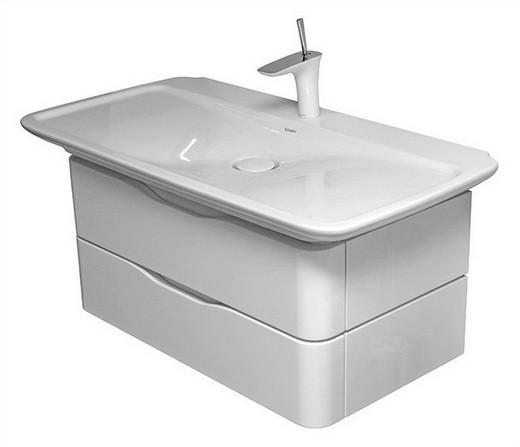 PuraVida 6767 85 85 под раковинуМебель для ванной<br>Тумба Duravit PuraVida 6767 85 85 под раковину Duravit PuraVida 0371100000.<br>