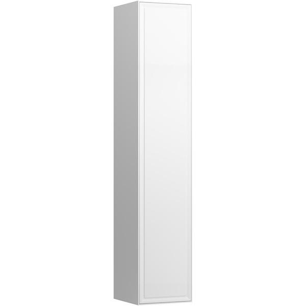 Шкаф пенал Laufen New Classic 32 4.0606.2.085.631.1 подвесной Белый глянцевый шкаф пенал laufen pro new 35 подвесной r венге