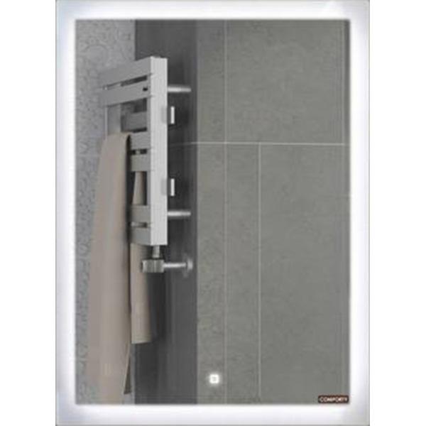 Зеркало Comforty Гиацинт 60 00-00000699 с подсветкой с сенсорным выключателем зеркало geberit option 60 с подсветкой 500 586 00 1